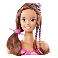 Pleasant Barbie African American Styling Head Free Shipping On Orders Short Hairstyles Gunalazisus