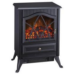 Lifesmart Quartz Infrared Antique Freestanding Stove Heats 800 Square Feet - Thumbnail 1