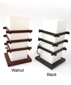 Chinese Rice Paper Ido Table Lamp (China)
