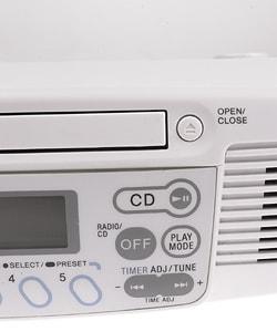 Sony ICF-CD533 Under-the-Cabinet Kitchen CD/Clock Radio (Refurbished)