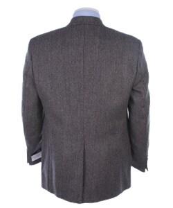Chaps Men's Grey Tweed Sportcoat