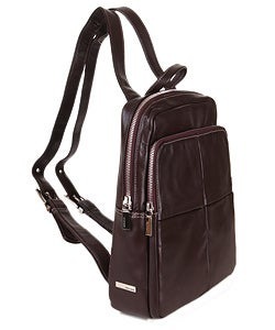 Shop Perlina Double Pocket Backpack Purse - Free Shipping Today ... d974b1896b3d5