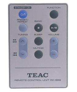 Teac CD-X6 AM/FM CD Stereo  System (Refurbished) - Thumbnail 1