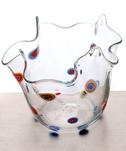 Nuova Bisanzio Small Glass Millefiori Bowl (Italy) - Thumbnail 1