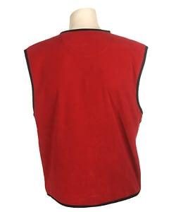 Woolrich Men's Red Fleece Vest