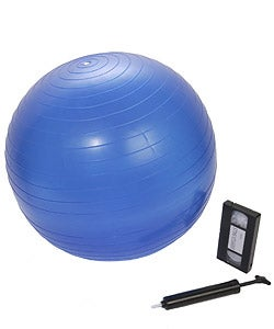 Dynaflex Exerflex  Fitness Ball with DVD - Thumbnail 1