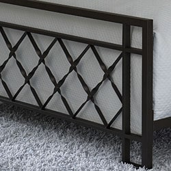 Lattice King Size Bed Free Shipping Today Overstock