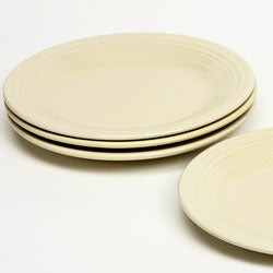 Fiesta Dinner Plates in Ivory (Set of 4)