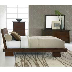 Hida Oak Queen-size Bed