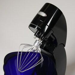 Shop Jenn Air Attrezzi Black Mixer W Cobalt Blue Glass