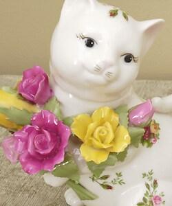 Royal Doulton Old Country Rose 3-piece Kitten Tea Set - Thumbnail 1