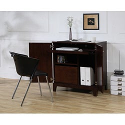 Compact Computer Cabinet Free Shipping Today Overstock