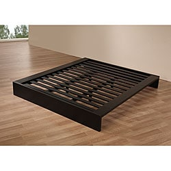 Lander California King Platform Bed- Black - Thumbnail 1