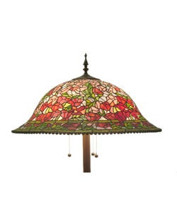 Shop Tiffany Style Floral Bouquet Floor Lamp Free