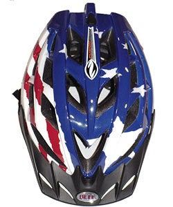 Bell Nemsis 2 Pro Bike Helmet Red/White/Blue (Small) - Thumbnail 1