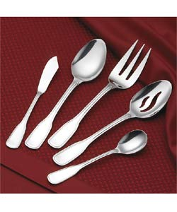 Rogers 18/0 Stainless 45-piece Old Boston Flatware - Thumbnail 1