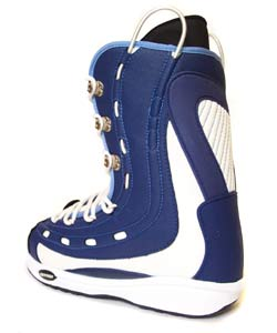 Oxygen Men's System Snowboard Boots - Blue/White - Thumbnail 1