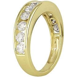 14k Yellow Gold 1ct TDW Diamond Band (Case of 2)