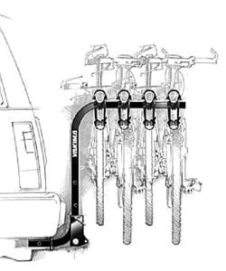 Yakima Roundabout 3-Bike Receiver Car Rack - Thumbnail 1