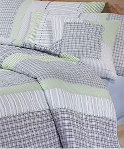 Berkeley All-cotton Quilt Set - Thumbnail 1