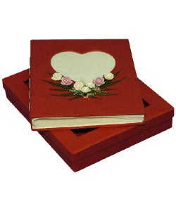 Hearts and Roses Photo Album with Gift Box