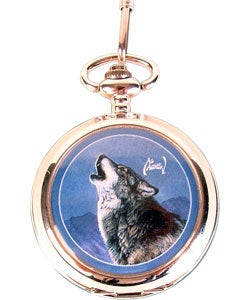 Agnew Howling Wolf Pocket Watch and Knife - Thumbnail 2