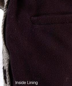 Hand-knitted Wool Sweater Jacket  (Nepal) - Thumbnail 2