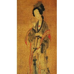 Enchanted Lady Waste Basket (China) - Thumbnail 2