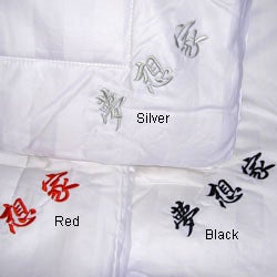 Handcrafted Silk-filled Queen Comforter (China) - Thumbnail 2