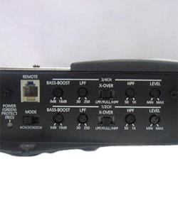Nitro BMW-483 1000W 4-channel MOSFET Bridgeable Amplifier