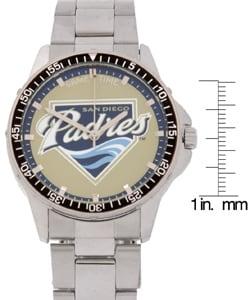 San Diego Padres Coach Series Steel Watch - Thumbnail 2