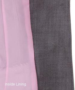 Anne Klein Petite Grey Wool Skirt Suit - Thumbnail 2