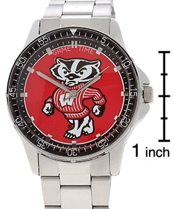 Wisconsin Badger Logo Men's Coach Series Watch