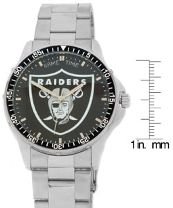Oakland Raiders NFL Men's Coach Watch - Thumbnail 2