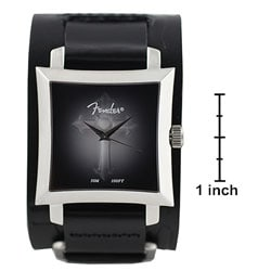 Fender Men's Black Dial 3D Gothic Cross Watch