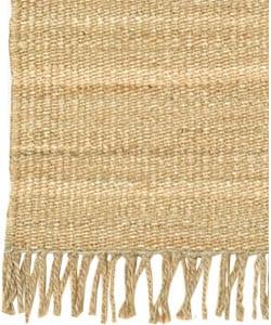 Hand-woven Jute Natural Rug (8' x 10'6) - Thumbnail 2