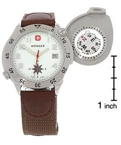 Wenger Men's G-3 Navigator Compass Watch