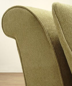 Slipper Sage Green Chair Free Shipping Today Overstock
