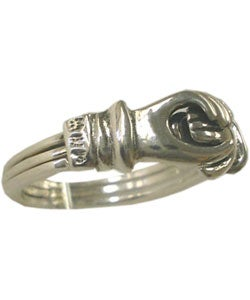 Sterling Silver Friendship Ring (Thailand) - Thumbnail 2