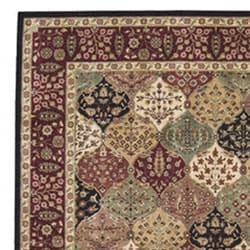 Nourison Golden Saga Burgundy Multi Rug (9'6 x 13') - Thumbnail 2