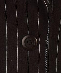 Nine West Nautical  Navy Pinstripe Pant Suit