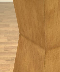 Wooden Pedestal Table - Thumbnail 2