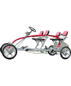 Four-person Steel Quad-Cycle Roadster