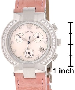 Concord La Scala Women's Diamond Chronograph Watch - Thumbnail 2