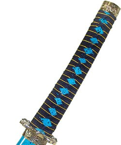 Ocean Blue Katana Sword Set - Thumbnail 2