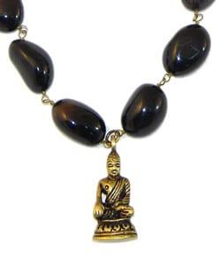 Inner Peace Buddha Necklace (India) - Thumbnail 2