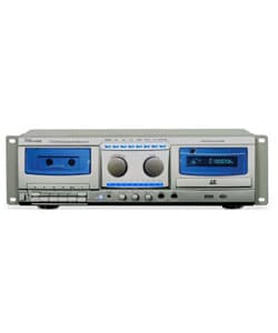 Professional CD and Cassette Recorder Combo System - Thumbnail 2