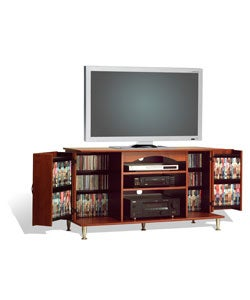 Chelsea Cherry 42-inch TV Storage Console - Thumbnail 2