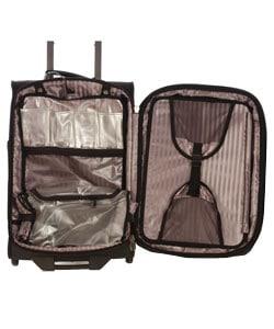 Atlantic Pro V 21-inch Quad Wheel Upright Suitcase - Thumbnail 2