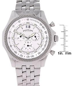 Stuhrling Original Targa Swiss Chronograph Oversized Men's Watch - Thumbnail 2